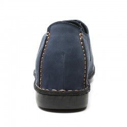 scarpe rialzate scamosciate blu cleto