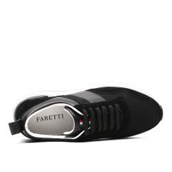 Scarpe con rialzo sportive nere