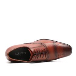 Scarpe con rialzo eleganti marroni Teodoro