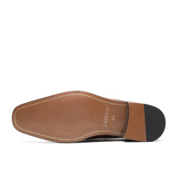 Scarpe rialzate eleganti marroni Teodoro