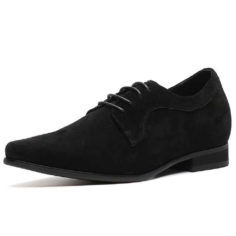 scarpe con rialzo nere