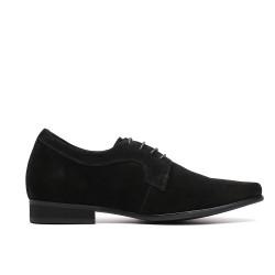scarpe nere con rialzo Sergio
