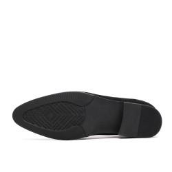 scarpe nere con rialzo 8 cm Sergio