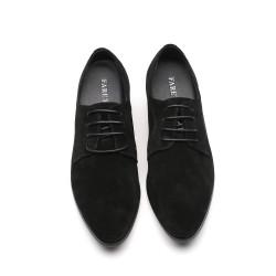 scarpe nere rialzate