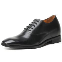 Classic black elevator shoes