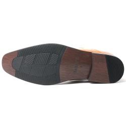 Scarpe con rialzo eleganti marrone chiaro Virgilio