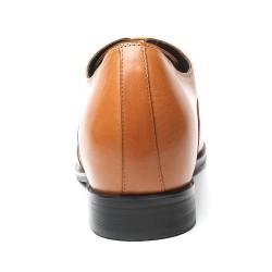 Scarpe eleganti marrone chiaro rialzate Virgilio