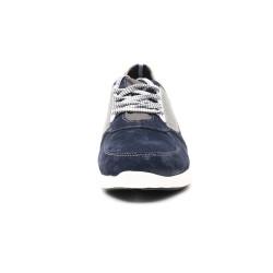 Scarpe rialzate pelle casual 7 cm