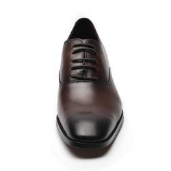 Scarpe rialzate marrone scuro Paolo